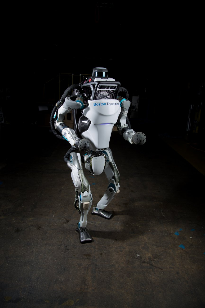 Atlas robot made by boston dynamics